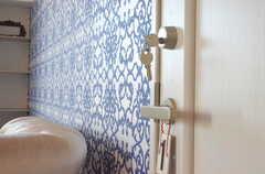 専有部の鍵の様子。(601号室)(2012-11-21,専有部,ROOM,6F)