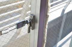 窓の鍵。(601号室)(2012-11-21,専有部,ROOM,6F)