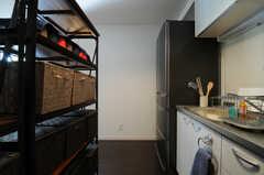 キッチンの様子2。(2013-04-15,共用部,KITCHEN,2F)
