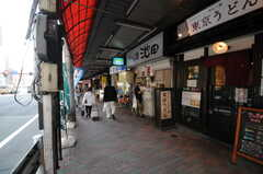 シェアハウス近くの商店街の様子。(2013-04-15,共用部,ENVIRONMENT,1F)