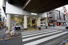 東急東横線・都立大学駅の様子。(2014-08-24,共用部,ENVIRONMENT,3F)