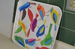 カラフルな鳥たち。(2013-02-28,共用部,KITCHEN,1F)