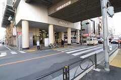 東急東横線・都立大学駅の様子。(2013-02-28,共用部,ENVIRONMENT,1F)