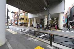 東急東横線・都立大学駅の様子。(2012-04-03,共用部,ENVIRONMENT,1F)