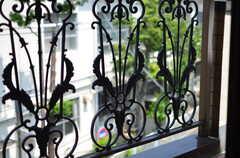 柵の装飾。(306号室)(2012-05-28,専有部,ROOM,3F)