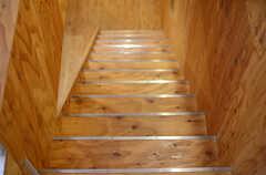 階段の様子。(2013-10-24,共用部,OTHER,3F)