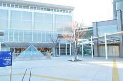 コンサートホール、図書館、体育館の様子。 ※事業者様提供素材(2014-01-13,共用部,ENVIRONMENT,1F)