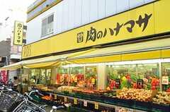 駅前の24時間営業のスーパーの様子。 ※事業者様提供素材(2014-01-13,共用部,ENVIRONMENT,1F)