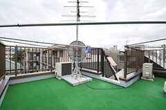 屋上の様子。(2013-07-03,共用部,OTHER,4F)