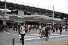 各線・自由が丘駅の様子。(2011-06-16,共用部,ENVIRONMENT,1F)