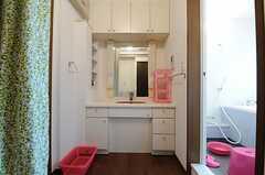 洗面台の様子。(2013-06-03,共用部,OTHER,2F)