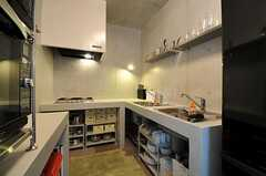 キッチンの様子。(2012-09-25,共用部,KITCHEN,3F)
