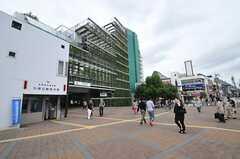 各線・大岡山駅の様子。駅の上には東急病院が入っています。(2012-09-25,共用部,ENVIRONMENT,1F)