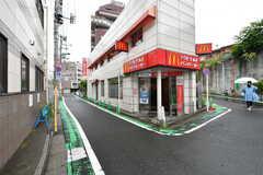 京王井の頭線・駒場東大前駅前の様子。(2017-06-28,共用部,ENVIRONMENT,1F)