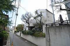 シェアハウスの外観。特徴的なデザインです。(2014-02-03,共用部,OUTLOOK,1F)