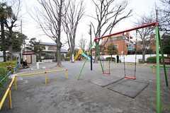 目の前は公園です。(2014-02-03,共用部,ENVIRONMENT,1F)