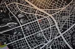 細い路地まで、細かなマップ。(2014-03-14,共用部,LIVINGROOM,1F)