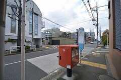 最寄りのバス停。(2014-04-04,共用部,ENVIRONMENT,1F)