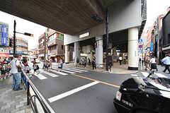 東急東横線・都立大学駅の様子。(2016-09-30,共用部,ENVIRONMENT,1F)