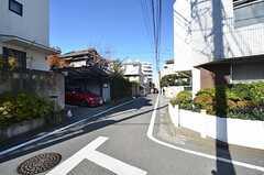 周辺は静かな住宅街です。(2014-12-15,共用部,ENVIRONMENT,1F)