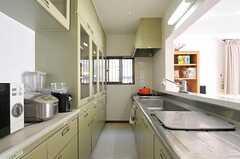 キッチンの様子2。(2011-10-28,共用部,KITCHEN,1F)