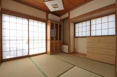専有部の様子。和室です。(101号室)(2011-10-28,専有部,ROOM,1F)