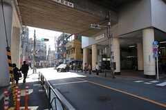 東急東横線・都立大学駅の様子。(2011-10-28,共用部,ENVIRONMENT,2F)