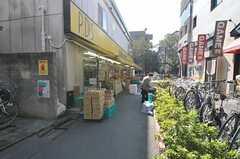 東急東横線・都立大学駅周辺の様子。(2011-10-28,専有部,ROOM,2F)