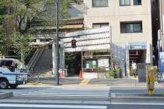 各線・麻布十番駅の様子。(2016-09-02,共用部,ENVIRONMENT,32F)