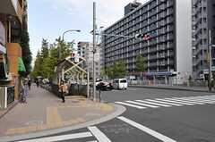 各線・麻布十番駅の様子。(2012-11-22,共用部,ENVIRONMENT,1F)
