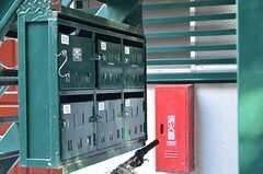 ポストは階段裏にあります。(2012-09-13,共用部,OTHER,1F)
