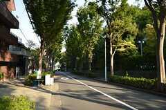 シェアハウスから東京メトロ日比谷線・広尾駅へ向かう道の様子。(2012-09-13,共用部,ENVIRONMENT,1F)