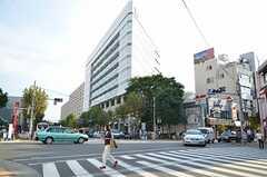 東京メトロ日比谷線・広尾駅前の様子。(2012-09-13,共用部,ENVIRONMENT,1F)