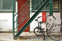 階段の様子。(2012-10-05,共用部,OTHER,1F)
