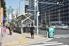 各線・麻布十番駅の様子。(2018-02-09,共用部,ENVIRONMENT,1F)