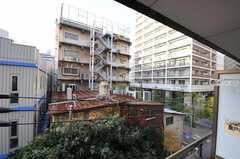 ベランダからの景色。(401号室)(2011-12-08,専有部,ROOM,4F)