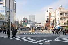 各線・田町駅前の様子。(2011-12-08,共用部,ENVIRONMENT,1F)