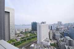 ベランダからの景色。(2604号室)(2012-05-31,専有部,ROOM,26F)