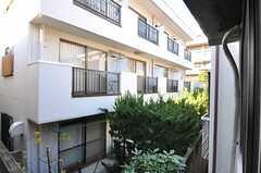 窓から見た景色。(206号室)(2013-12-11,専有部,ROOM,2F)