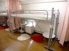 ドミトリーの様子。(204d号室)(2007-07-19,専有部,ROOM,2F)