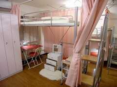ドミトリーの様子。(204b号室)(2007-07-19,専有部,ROOM,2F)