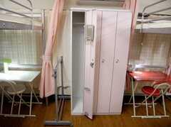 204号室のプライベートロッカーを開けた所(2階)(2007-07-19,共用部,OTHER,2F)