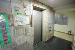 マンションのエレベーターの様子。(2008-07-30,共用部,OTHER,1F)