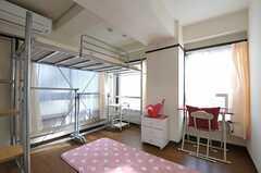 専有部の様子。ロフトベッドがあります。(3021号室)(2011-10-12,専有部,ROOM,3F)