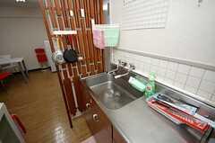 キッチンの様子。(304号室)(2008-07-30,共用部,KITCHEN,3F)