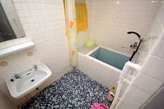 バスルームの様子。(304号室)(2008-07-30,共用部,LIVINGROOM,3F)