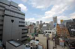 屋上から見た景色。(2008-07-30,共用部,OTHER,7F)