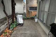 自転車置場の様子。(2010-12-22,共用部,GARAGE,1F)