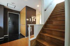 階段の様子。(2011-07-04,共用部,OTHER,5F)
