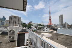 屋上の様子。(2011-07-04,共用部,OTHER,6F)